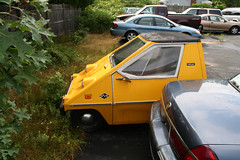 1974 Citicar SV-48 (Alex Nunez) Tags: 1974 citicar sv48 ev electric micro car microcar auto automobile coupe wedge vintage classic odd oddity ugly weird capecod ma