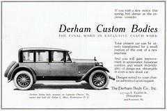 Derham Sedan Body on Lafayette Chassis, 1922 (aldenjewell) Tags: philadelphia sedan lafayette ad rosemont pa 1922 coachbuilt pennsylvanie derham