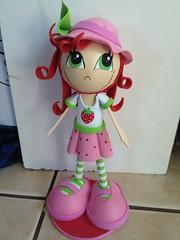 Strawberry ShortcAke Fofucha Doll (FofuchasHomemadeDolls) Tags: crafts prettyeyes candyland handmadedoll fofucho happydoll foami lovelydoll prettydoll fofucha 3ddoll
