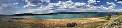 Heron Reservoir (JoelDeluxe) Tags: panorama lake newmexico heron water landscape reservoir nm joeldeluxe hdr willowcreek riogrande riochama elvado sanjuanchama