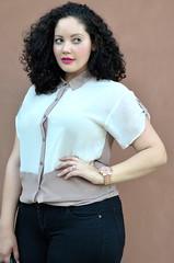 Office Polish (GirlWithCurves) Tags: fashion blog curves curlyhair plussizefashion girlwithcurves plussizeblog taneshaawasthi