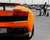 Lamborghini (Q8_Stranger) Tags: world bw orange cars sport canon super pro kuwait carshow q8 photograpy blackwhitephotos