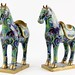 139. Pair of Chinese Cloisonne Horses