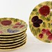 176. Set of (8) Sarreguemines French Majolica Plates