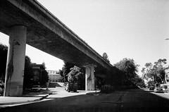 Oakland (Terry Barentsen) Tags: california bw white black film san francisco olympus stylus hp5 epic ilford 2012