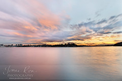 Blues Point Sunset (Jessie Rose Photography) Tags: ocean longexposure winter sunset harbour sydney australia bluespoint