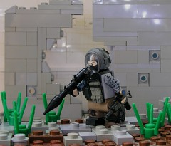 Spetsnaz Engineer (ORRANGE.) Tags: 3 paint lego russia camo rpg tiny battlefield job engineer orrange customs aks tactical krinkov spetsnaz brickarms 74u eclipsegrafx