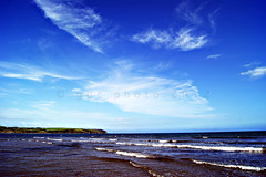 Clonea strand (ggcphoto) Tags: ireland sky clouds reflections sand waves horizon bluesky waterford sunnyday ladscape walkonthebeach sonyalpha cloneastrand sonya390 gettyimagesirelandq12012