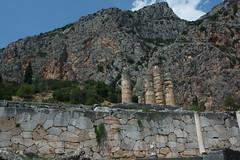 Delphi (Δελφοί) Greece, Aug 2012. 05-140c (megumi_manzaki) Tags: archaeology greek ancient delphi greece worldheritage delphoi