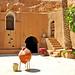Tunisia-3533 - Main courtyard of the Hotel.