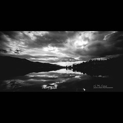 Big Bear Lake (In my entirety) Tags: bear sky lake clouds canon landscape eos big angle mark wide ii 5d f28 14mm rokinon