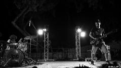 Jamming. (Abulafia82) Tags: blackandwhite bw rock blackwhite pentax blues bn concerto musica notturna hardrock biancoenero 2012 k5 spettacolo concerti bluesrock ciociaria arpino bsbe budspencerbluesexplosion pentaxk5 agosto2012 24agosto2012 ponterock villasangermano
