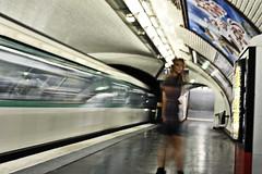 13 (FedericoManca) Tags: paris underground metro stazione metropolitana metropole parigi mosso treni federicomanca strazioni metroperigina