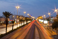 Jeddah Highway (Wisssss) Tags: morning sunrise early highway slow shutter jeddah jiddah madinaroad