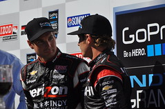 Will Power and Ryan Briscoe (SpeersM5) Tags: 2 point power ryan 10 sears sonoma 8 mario will 12 roger rubens graham 38 barrichello raceway dario indycar andretti franchitti penske izod briscoe rahal infinion