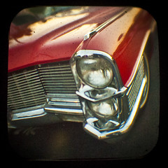 The 1965 Cadillac headlight bezel weighed 87 pounds (Friendly Joe) Tags: ttv anscoflexii imadethatup