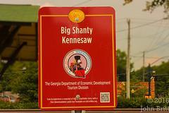Big Shanty (kudzu 70) Tags: downtownkennesaw ga georgia historic art history shops stores streetphotography thegeneral