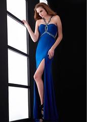 Chic Chiffon Halter Neckline Floor-length Sheath Sexy Prom Dress (miyadresses2016) Tags: chicdress chiffondress halterdress sheathdress sexypromdress openbackdress bluedress longformaldresses longpromdress stunningdress prettydress