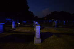 Ghostly glow (Vox Sciurorum) Tags: night cemetery watertown massachusetts zeiss distagon2128zf