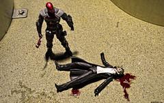 Bloody Joke (nobudius_5192) Tags: figure batman joker redhood dccollectibles arkhamknight