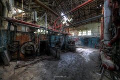 Boiler House (Fine Art Foto) Tags: swimming pool schwimmbad badeanstalt bad verdunstung evaporation urbex urbanexploration urbandecay urban lostplace lostplaces abandoned aufgegeben forgotten oblivion boiler