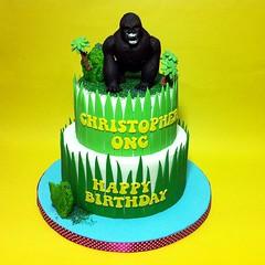 Fondant 3D King Kong Birthday Cakes (Cakedeliver.com Malaysia Cake House) Tags: cakeshop kualalumpur selangor johorbahru 3dcake birthdaycake klangcake themedcakes kidscake melaka tieredcake noveltycake partycakes penangcakes ipoh nusajaya puchong sripetalingcakestore figurinecake cartoon cake