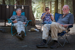 Thinkers of the Day_4133 (hkoons) Tags: aspen group jackson meadow reservoir peace corps spring unit tahoe national forest 2016 sierra sierras campout mountians recreation rpcv