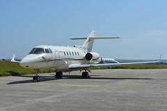 VQ-BVA Hawker 900 EGNS 19/7/16 (David K- IOM Pics) Tags: vq vqbva hawker raytheon beechcraft buisness jet pjc private centre ronaldsway airport isle man isleofman egns iom