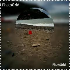 PhotoGrid_1471898821381 (Puntin1969) Tags: levanto spiaggia mare gioco telefonino