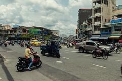 Traffic - Ho Chi Minh City (Matteo Bontempi) Tags: architecture architettura modern buildings urban landscape skyscrapers metropoli colours color photosho chi minh city vietnam july 2016