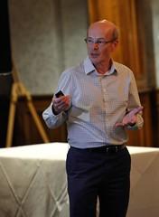 Jonathan Partridge talking about the XJ40 Sales and Marketing programmes (Pim Stouten) Tags: dunkeld jag jaguar xj xj40