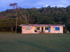 Abandoned house (*Jilltoo) Tags: house abandoned derelict niue hikutavake island pacific evening sunset forest jungle travel holiday