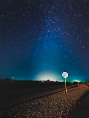 Tarseet M. (Veistim) Tags: blue stars bokeh starry sky night