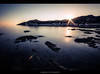 _______*___ (Kevin HARWIN) Tags: el port de la selva spain noth water sea beach sand canon eos 70d sigma 1020mm lens clouds sun sunrise long exposure tripod rocks stones buildings