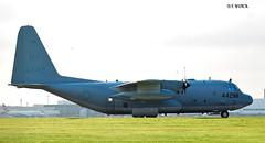164442 HERCULES KC130T (douglasbuick) Tags: aircraft hercules kc130t usaf 164442 new york yankee 99 military tanker egpf glasgow airport aviation scotland flickr prop plane nikon d40