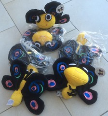 Camelia butterfly stuffed toys (WendyGA) Tags: perl6 camelia stuffed toy perl logo stuffedtoy butterfly