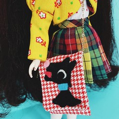 Here's a look at the Showa retro inspired bag I created for my contribution to the BCUK charity raffle doll project ❤