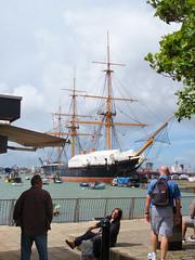 IMG_2917 (C.K.H.) Tags: portsmouth historic dockyard hmswarrior