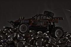 Rallye Bottle Caps! (Gnter Hentschel) Tags: bottle caps bottlecaps kronkorken bierdeckel bierstpsel auto car deutschland germany germania alemania allemagne europa nrw nikon d5500 nikond5500 hentschel indoor guenter flickr gnter