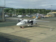 OK-LAZ Citywing  Let L410UVP-E at Ronaldsway Airport, Isle of Man (j.a.sanderson) Tags: isleofman oklaz ronaldway airport ronaldswayairport citywing letl410uvpe l410uvpe v9116