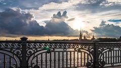 Sunny and cloudy (pilot3ddd) Tags: st petersburg trinity bridge neva river peter paul fortress olympus epl7 panasonic g1232