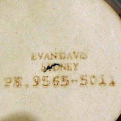Davis, Evan (Australian Potters' Marks) Tags: australianpottery evandavis d nsw