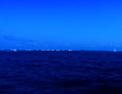 Rockaway Inlet. Blue Hour (dimaruss34) Tags: newyork brooklyn dmitriyfomenko image summer manhattanbeach evening bluehour