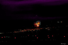 The party is over! Good night (kiareimages1) Tags: fireworks night lights luci colori colors couleurs ciel feste party feuxdartifice fuochiartificiali images immagini imagery imagenes paysages paesaggi landscapes