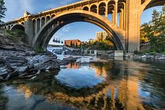 Monroe Street Bridge Downtown Spokane (CraigGoodwin2) Tags: spokaneriver spokane downtownspokane monroestreetbridge easternwashington inlandnorthwest