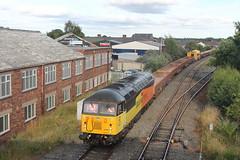 56302 TnT 56113 6C32 (Neil Altyfan - Railway Photography) Tags: 56302 56113 6c52 basfordhall latchford sidings colasrail railvac 997095150055 warrington arpley signal box 270716