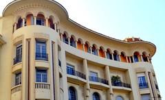 DSC_0005 (latifalaamri) Tags: building immeuble faade artdco casablanca morocco old