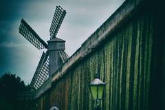 Windmill (Michael Eickelmann) Tags: windmill windmhle graduation saline bad rothenfelde salt salz vintage panasonic lumix fz 200 gradierwerk
