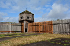 Fort Vancouver Natl Historic Site - Fort - Bastion (jrozwado) Tags: northamerica usa washington vancouver fortvancouver nationalpark historicsite fort bastion museum livinghistory