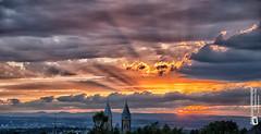#sunset  Arenberg am 28.8.2016 (Tubus112) Tags: kteinsatzfotografie daskleinefotostudio sunset koblenz arenbergimmendorf sky 2016 himmel blick canon